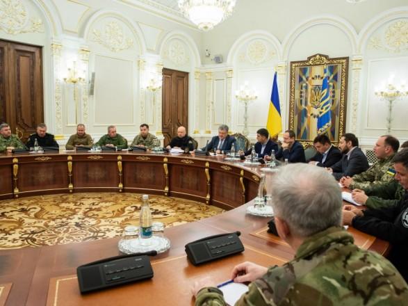 Порошенко обратился к ветеранам АТО и ООС: будьте начеку