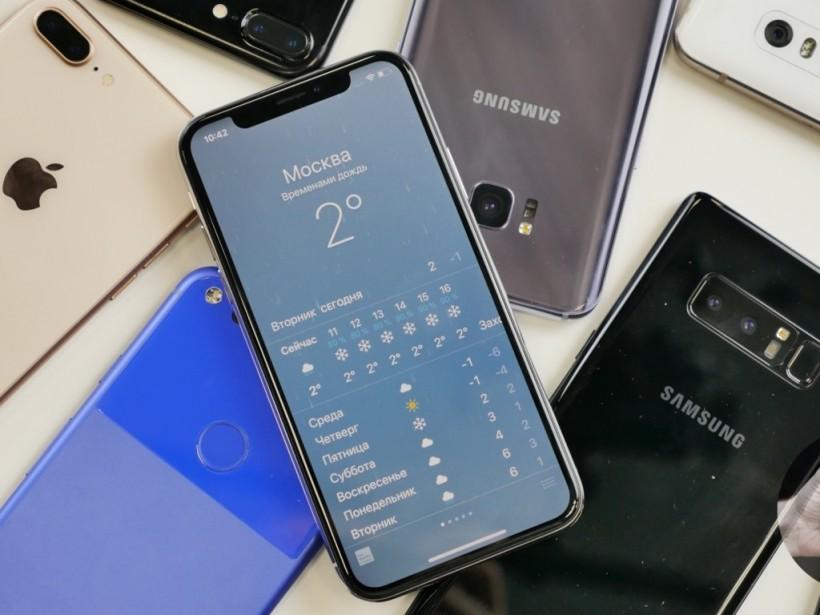 Дизайнер сравнил Samsung Galaxy S10, Galaxy S9 и iPhone XS Max в одном снимке (ФОТО)