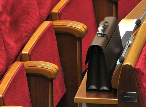 После принятия Бюджета на заседание в Раду пришло меньше половины нардепов