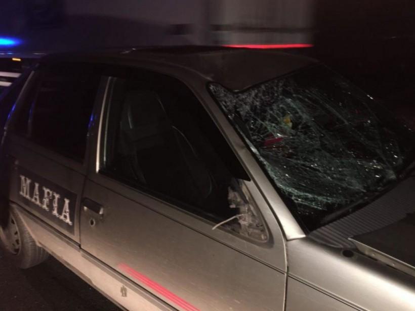 В Днепре служебное авто ресторанной сети сбило двух пешеходов, пострадавшие в реанимации (ФОТО)