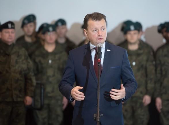 Министр обороны Польши: российские войска уже официально атакуют Украину