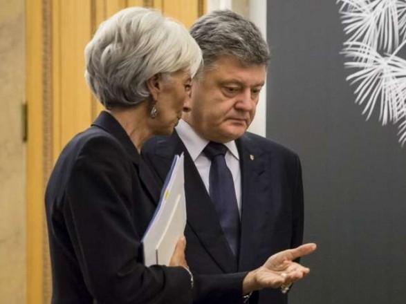 Президент анонсировал разговор с главой МВФ