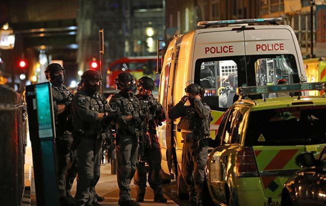 В Лондоне задержали двух мужчин по подозрению в терроризме