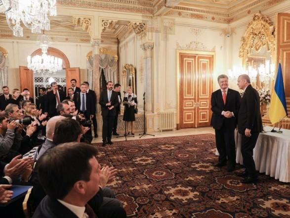 Петр Порошенко: Украина и Турция имеют чрезвычайно большие перспективы сотрудничества