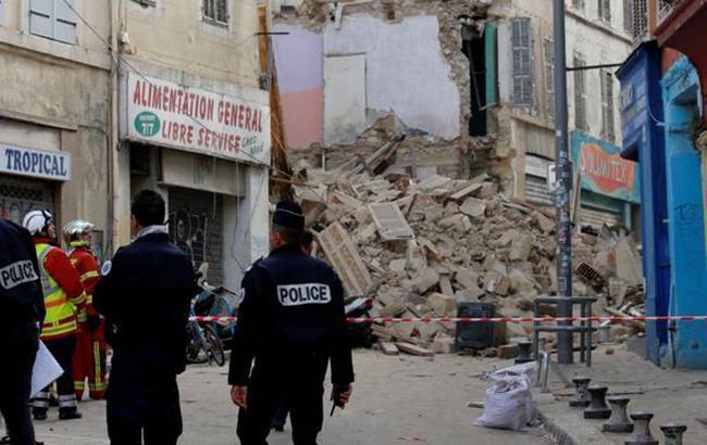 Число погибших при обрушении домов в Марселе возросло до 3
