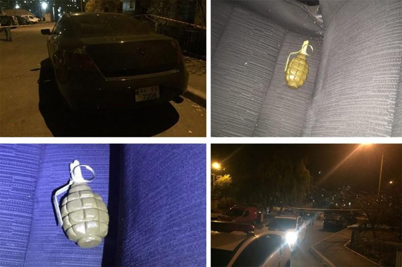 Следит и угрожает: в Киеве на Троещине парень бросил гранату в авто бывшей девушки (ФОТО)