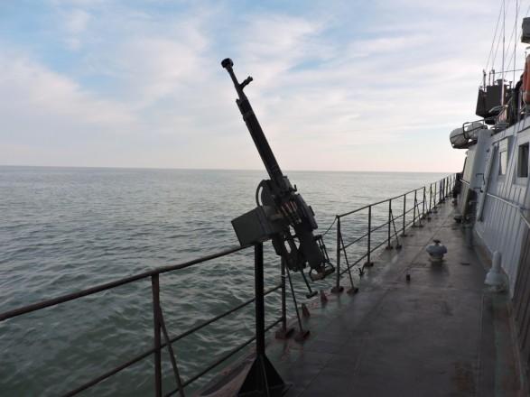 Украинские военные запланировали стрельбы на море в декабре