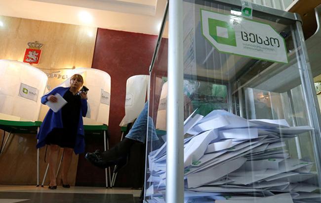 В Грузии объявили результаты голосования после подсчета 98% голосов