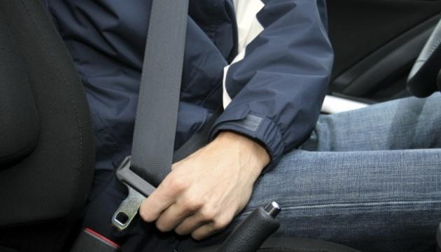 В Украине только 15% водителей используют ремни безопасности