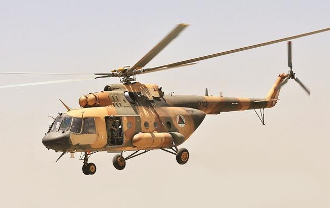 На юге Афганистана разбился военный вертолет, есть погибшие
