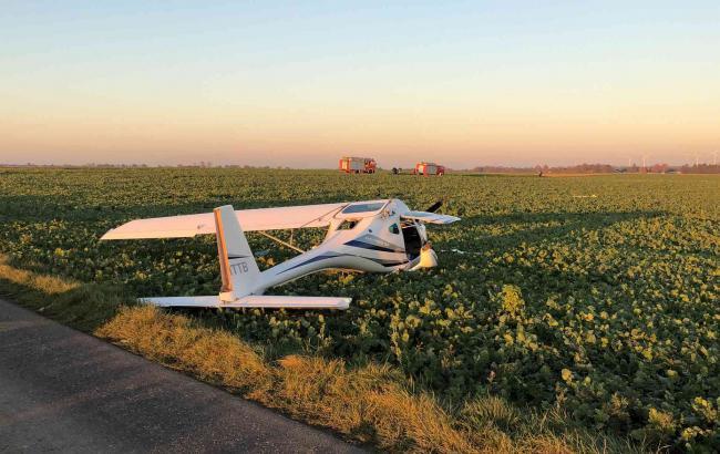 В Германии столкнулись два легкомоторных самолета, один пилот погиб