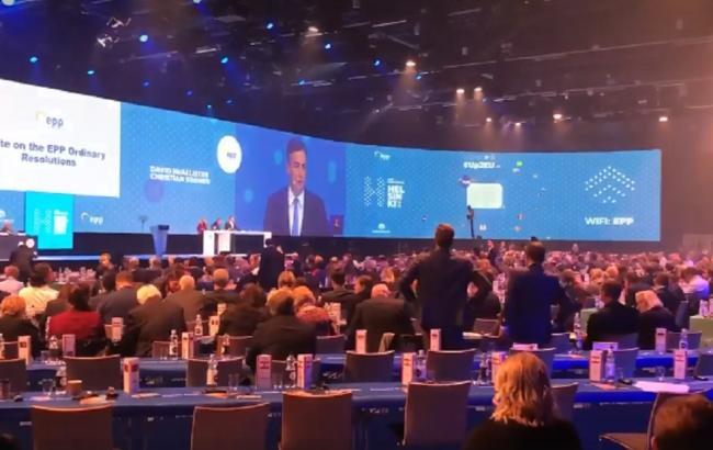 Конгресс Европейской народной партии отметил непризнание российской аннексии Крыма