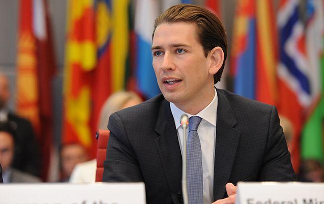 Курц: Австрийская Республика будет поддерживать санкции европейского союза против Российской Федерации