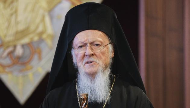 Варфоломей благословил новоизбранного предстоятеля поместной украинской церкви