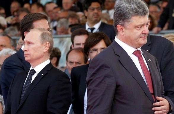 Кремль прокомментировал возможность разговора Путина и Порошенко
