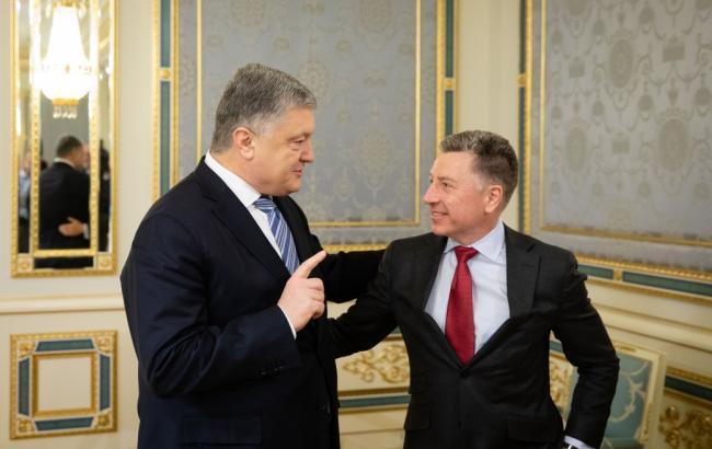 Волкер на встрече с Порошенко допустил санкции против РФ за агрессию в море