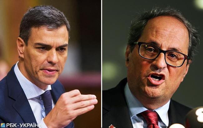 Санчес встретится с лидером Каталонии