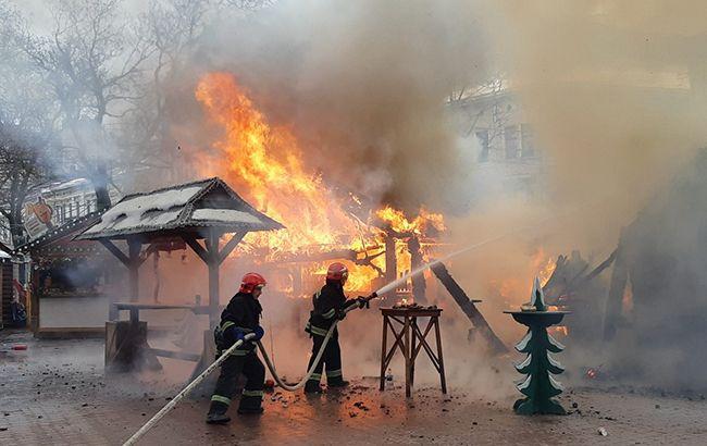 Пожар на ярмарке во Львове: медики рассказали о состоянии пострадавших