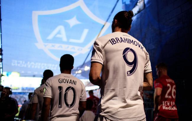 Ибрагимович стал самым высокооплачиваемым футболистом в футбольной лиги Америки