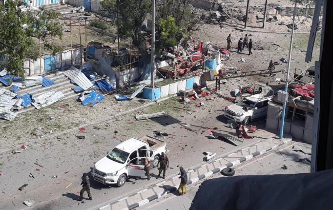В Сомали произошел теракт возле президентского дворца, 17 человек погибли