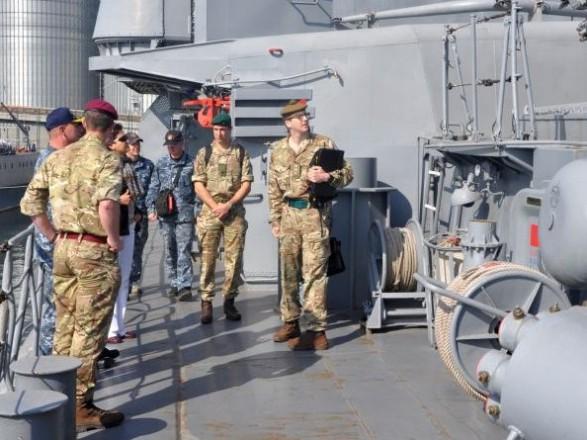 В Украине прибудут ВМС Великобритании для помощи украинским военным