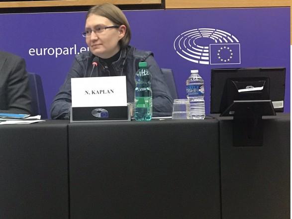 Сестра Олега Сенцова поблагодарила Европарламент