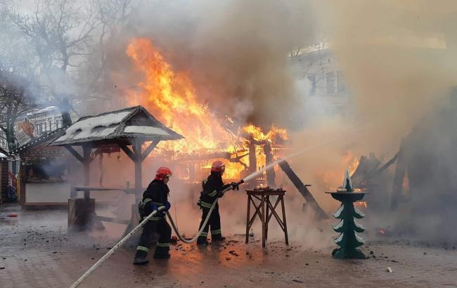 Стала известна причина взрыва на рождественской ярмарке во Львове