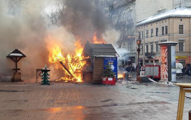 Количество пострадавших в результате взрыва на ярмарке во Львове увеличилось