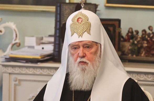 Порошенко - Филарету: вы останетесь лидером украинской церкви