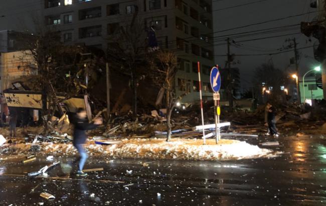 В Японии произошел взрыв ресторана, пострадало более 40 человек