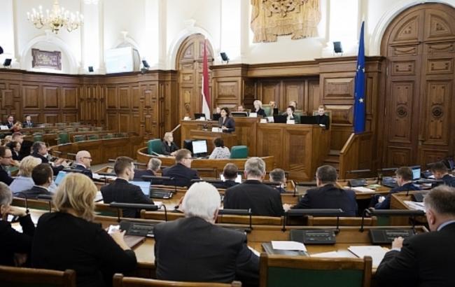 Сейм Латвии осудил российскую агрессию против Украины