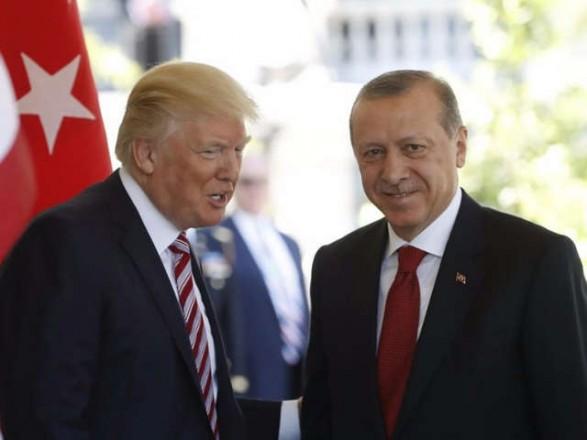 Трамп и Эрдоган обсудили обеспечение безопасности на северо-востоке Сирии