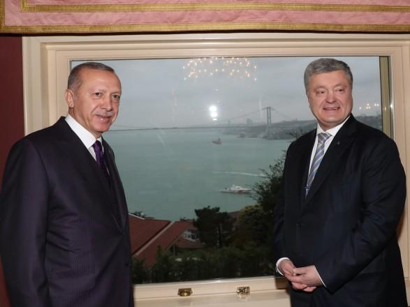 Порошенко в Стамбуле встретился с Эрдоганом