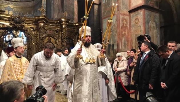 Епифаний призывает отбросить вражду и молиться за церковь и объединение