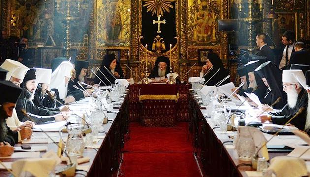 В Стамбуле все члены Синода подписали Томос об автокефалии украинской церкви