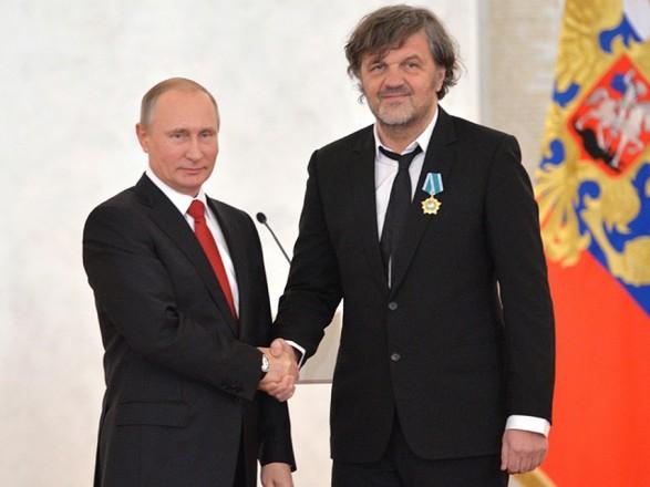 Путин встретился с режиссером, которому запрещен въезд в Украину