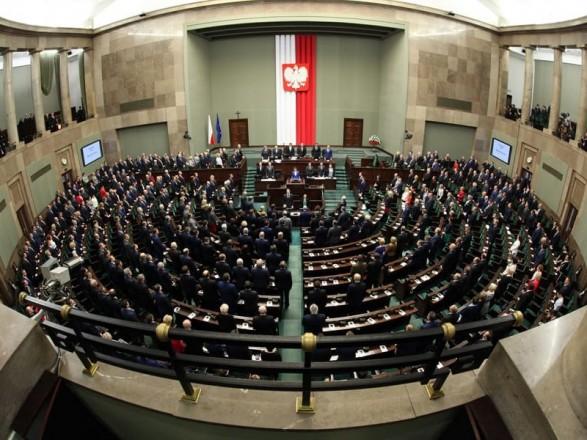 В сейме Польши обсудили ситуацию в Украине перед выборами