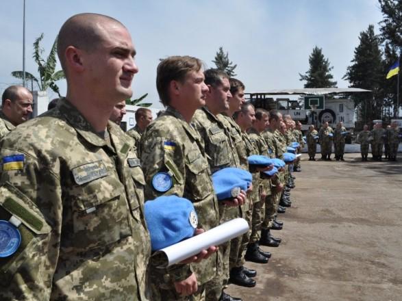 Более 300 украинских миротворцев находятся в международных операциях
