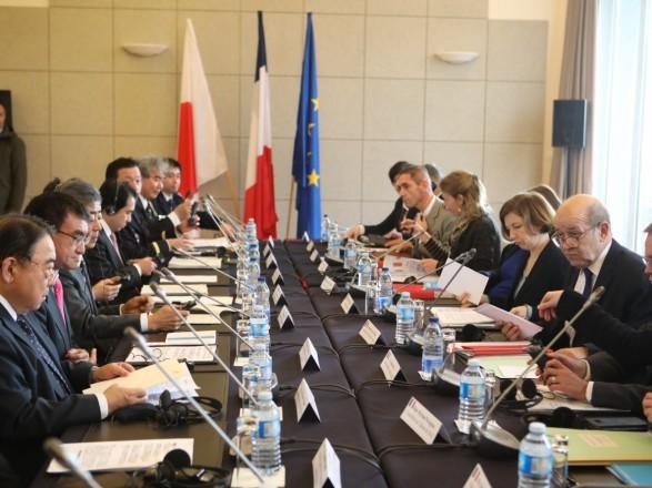 Франция и Япония выразили приверженность заявлению G7 относительно ситуации в Керченском проливе
