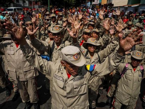 В Венесуэле журналист заявил о задержании военных, что записали видео в поддержку Гуайдо