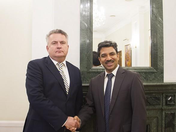 В МИД приняли посла Индии в Украине