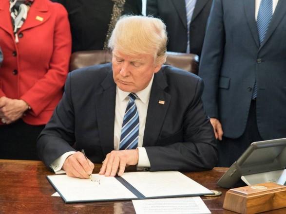 Трамп подписал правительственный бюджет США
