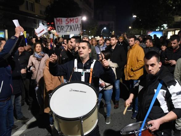 Тысячи людей митингуют с требованием отставки президента и правительства в Черногории