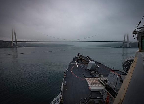 Еще один корабль НАТО отправился к Черному морю