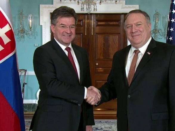 Глава ОБСЕ и Госсекретарь США обсудили помощь Украине и агрессию РФ