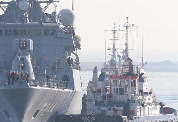 В одесский порт вошли военные корабли Турции