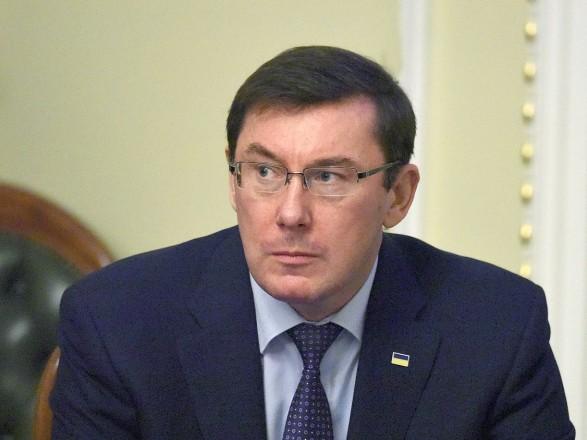 Луценко: ни одного дела против кандидатов в президенты нет