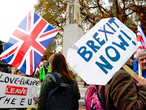 В Лондоне прошли массовые протесты сторонников Brexit