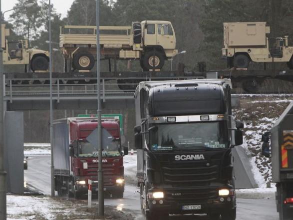 НАТО построит депо для американской военной техники в Польше