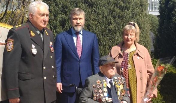 Вадим Новинский: с ветеранов мы должны брать пример стойкости, несгибаемости и мужества